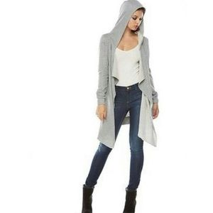 JUICY COUTURE cardigan sweater with hoody